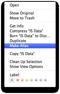 Make an Alias.