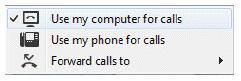 Phone Control Menu