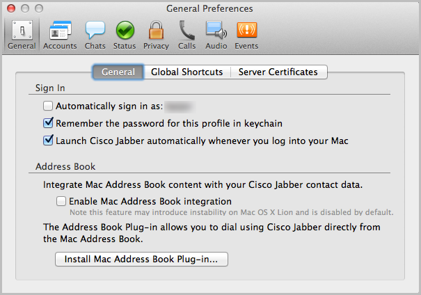 Article - How do I configure Jabber t